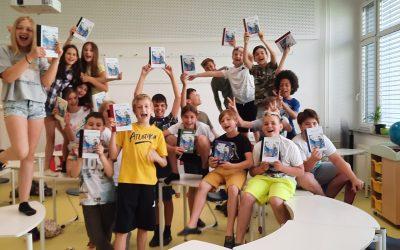 Učenci 5. razreda izdelali svojo knjigo